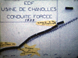 Conduite forcée de Chanolles, 1959