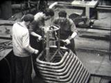 confection de tremis film d'archive chantier naval de Marseille années 50